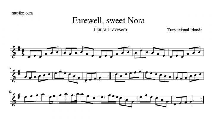 Farewell, sweet Nora - Flauta travesera