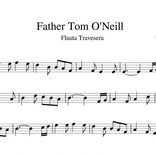 Father Tom O'Neill - partitura flauta travesera